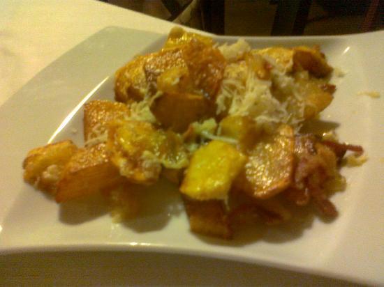 Nerino Dieci Trattoria: patate 'mpacchiute