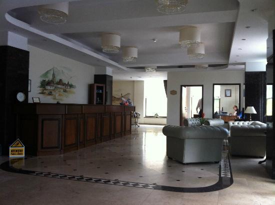 Hotel Coroana Brasovului: Reception