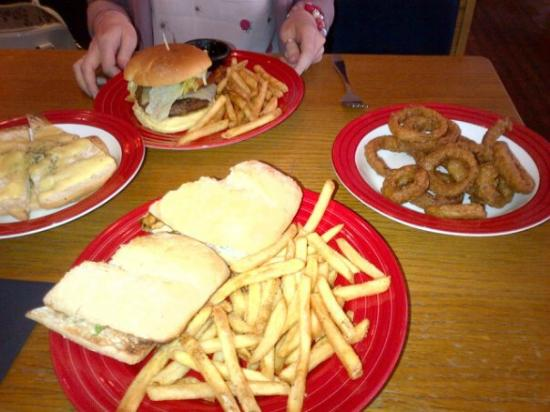 TGI Friday's: Our food.