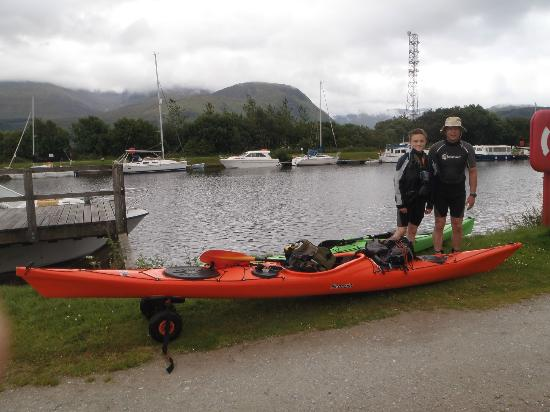 Glenshian Guesthouse: Just about to leave