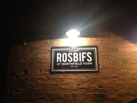 Photos of Les Rosbifs at Northfield Farm, Cold Overton