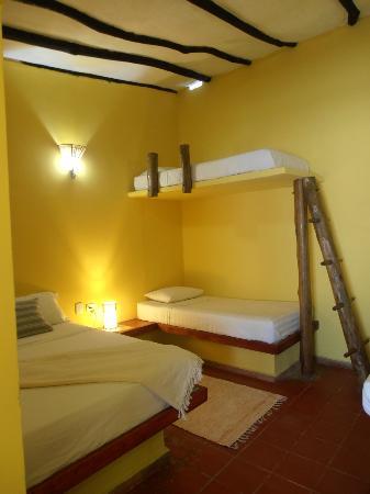 Posada la Gitana: habitacion para 5 personas