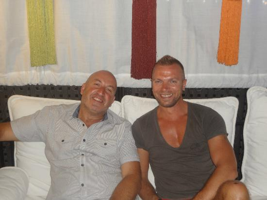 Riad Andalla : Andre and Christophe - Worlds best hosts