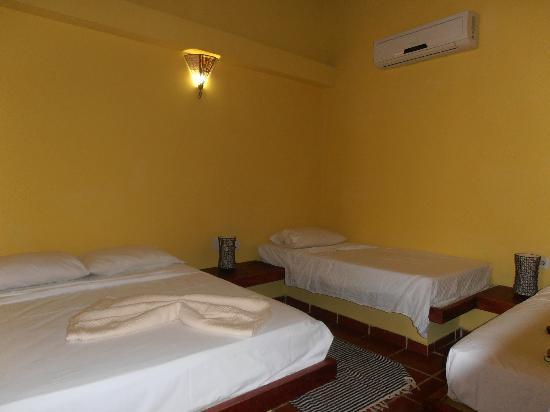 Posada la Gitana: habitacion para 4 personas
