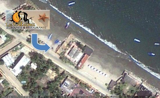 Posada la Gitana: vista satelital
