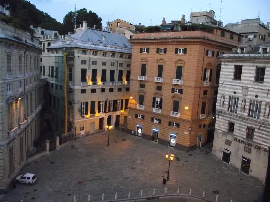 View from our window photo de best western hotel for Metropoli in italia