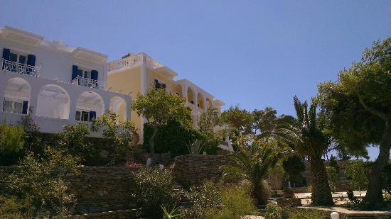 Aneroussa Beach Hotel : Hotel Aneroussa
