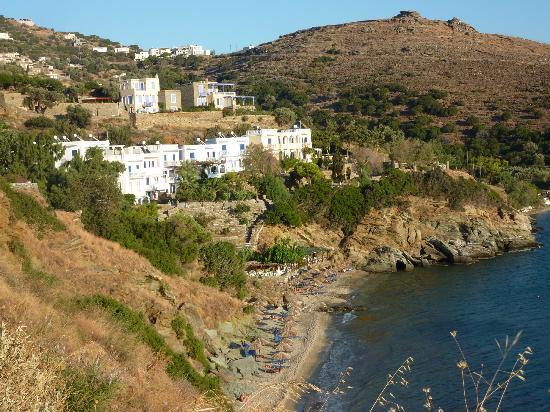 Aneroussa Beach Hotel : Hotel Aneroussa et ses plages