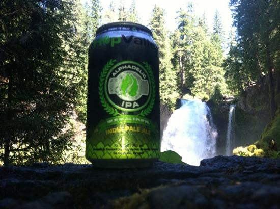 Hop Valley Brewing Company: Great drink on a lovely hike!