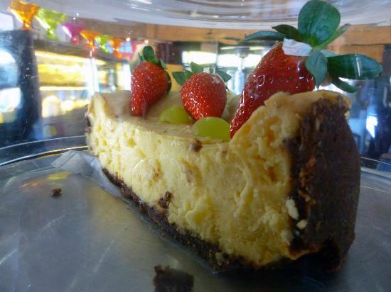 Nina's Real Food: Delicious looking cheesecake.