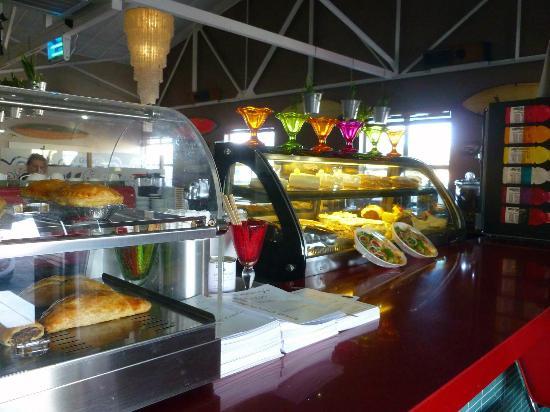 Nina's Real Food: Pies & cakes on display