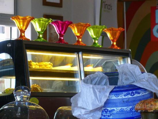 Nina's Real Food: Colourful Icecream holders!