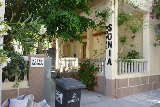 Hotel Sonia: outside of hotel 2