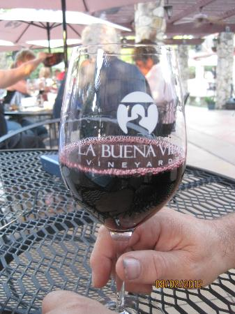 La Buena Vida Vineyards : Very nice Texas red