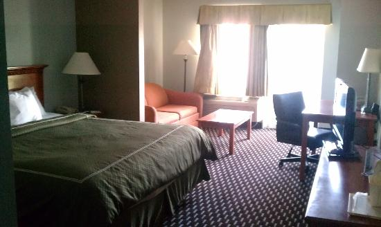 Comfort Suites Downtown: Room on the 3rd floor