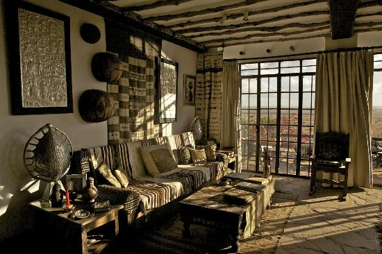 African Heritage House: Living Room