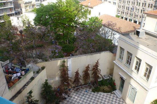 Soho Hotel : view from balcony