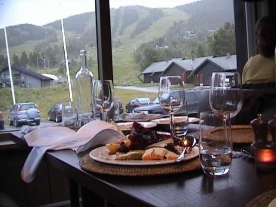Vestlia Resort: η θέα από το εστιατόριο του ξενοδοχείου