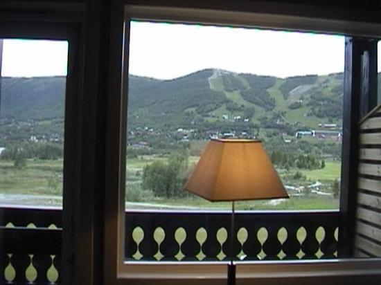 Vestlia Resort: η θέα από το δωμάτιο στις πίστες του σκι