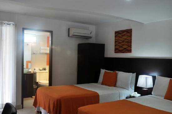 AZ Hotel & Suites: Habitacion Standard de 2 camars