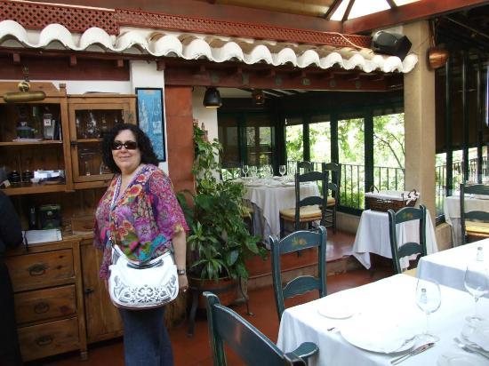 Restaurante El Corregidor: Antes de comer