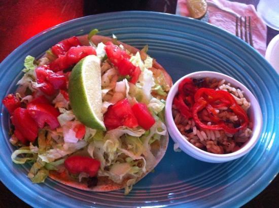 Sun City Cafe: huge fish taco! so fresh!