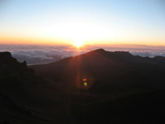Paia, Χαβάη: Sunrise Mt. Haleakala