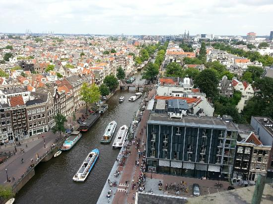 De Duif: Prinsengracht from Westerkerk tower