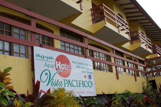 Aparthotel Vista Pacifico: Entrance to the hotel