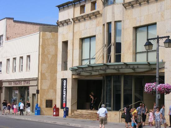 Stratford, Canada: the Avon Theatre and Theatre Store