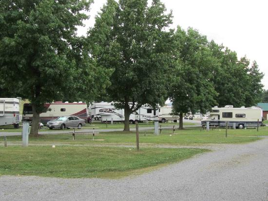 Fort Chiswell RV Park: Campsites at Fort Chiswell RV