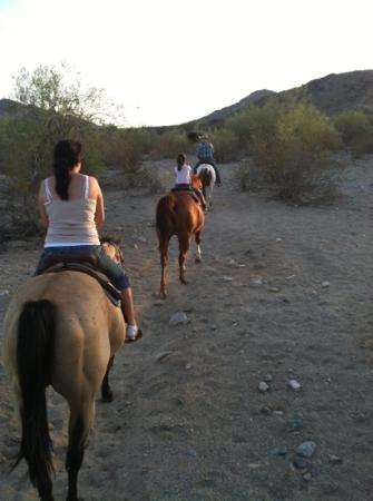 Arizona Horses (Ponderosa Stables and South Mountain Stables): My girls