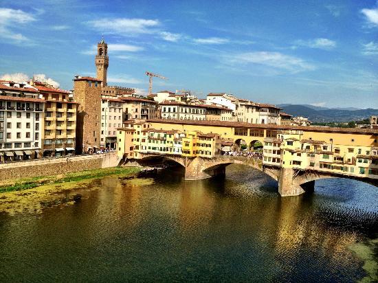 Hotel Lungarno: view