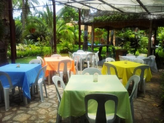 Dona Marta Boutique Hotel: Atrium Dining