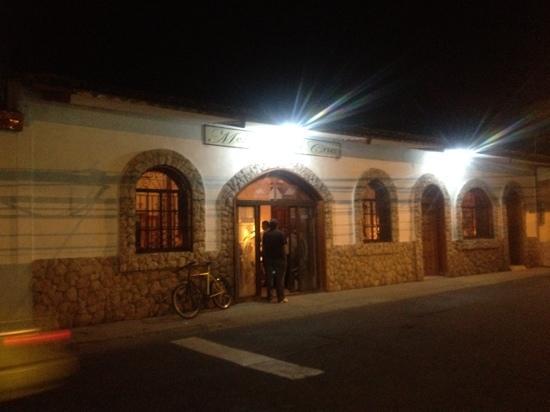 Mezon de Santa Cruz: fachada