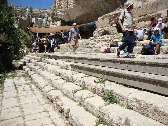 Hezekiah's Tunnel - Siloam Tunnel: Silowe´s pool