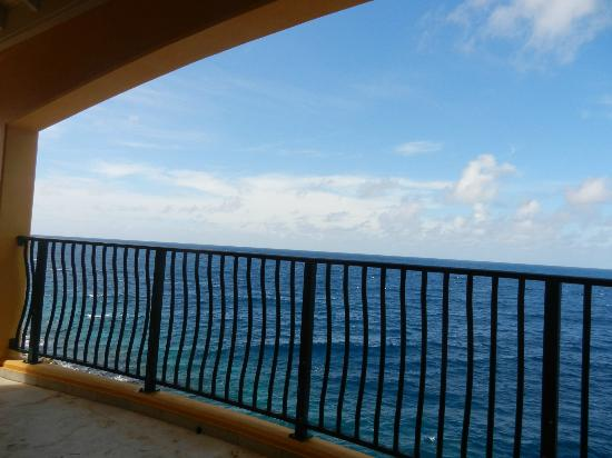 The Royal Sea Aquarium Resort: view from our deck