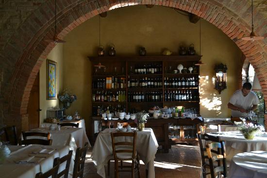 فيلا سيكولينا: breakfast room