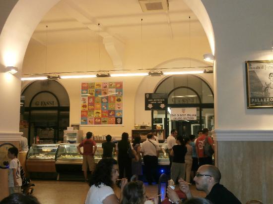 Palazzo del Freddo: so many flavours!
