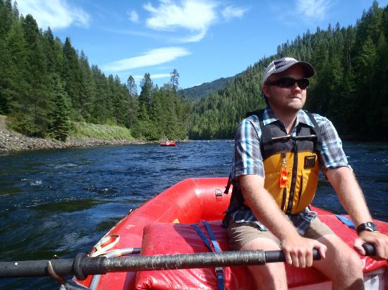 River Dance Lodge : Rafting with Bryce