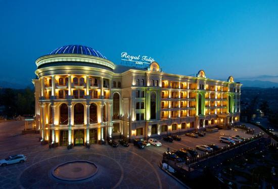 Royal Tulip Almaty: Facade