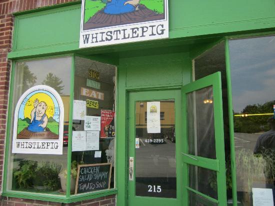 WhistlePig Bistro : front entrance