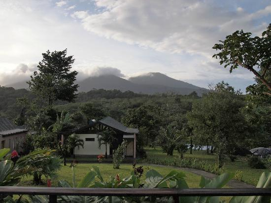 Tenorio Lodge: View from veranda of main house