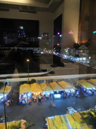 A&EM Hotel : View from our Executive Double Room at the 4th Flr.