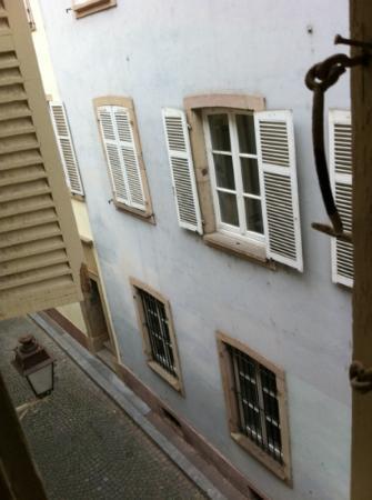 ETC Hotel : vue de notre fenêtre