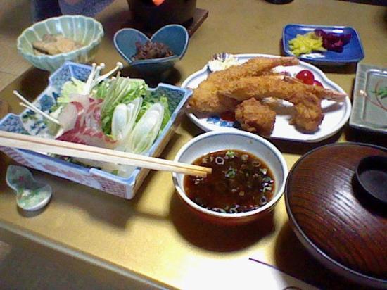 Yoshikawa Kaikien: 子ども用の晩食です!
