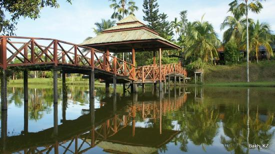 Paganakan Dii Tropical Retreat: entartainment park located down the path