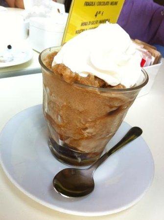 L'Eoliana: granita caffè e panna
