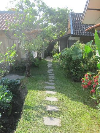 de Daunan Home and Garden Guest House: the path