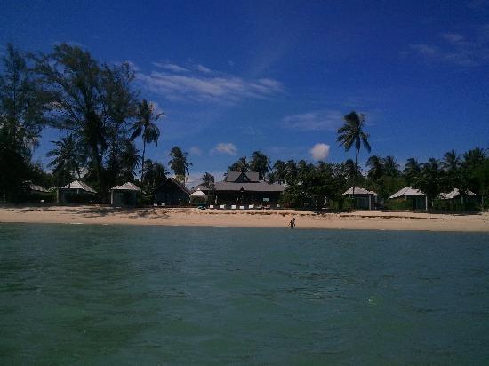 Sea Valley Hotel and Spa: ВИД С МОРЯ НА ОТЕЛЬ
